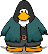 Frankenpenguin Costume on a Player Card