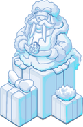 Merry Walrus Snow Sculpture sprite 001