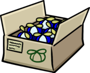 Blue Propeller Cap box