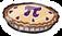Pi Pie Pin icon