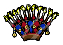 Sparkling Headdress Pin icon