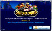 Marvel Membership Error
