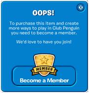 Old Membership Popup