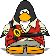 First Mate's Outfit on a Player Card