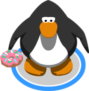 Iced Donut in-game