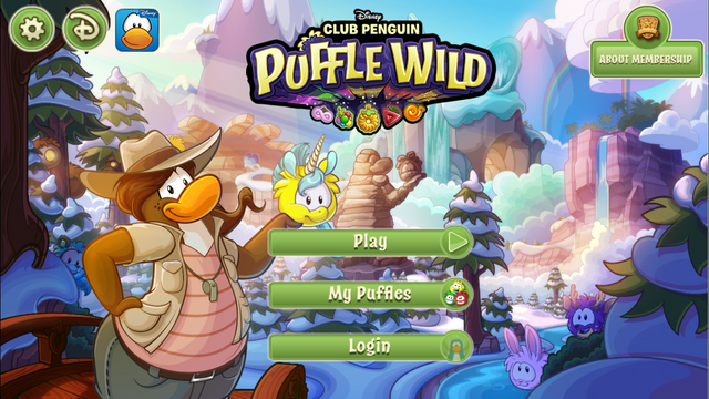 File:Puffle Wild home screen.PNG
