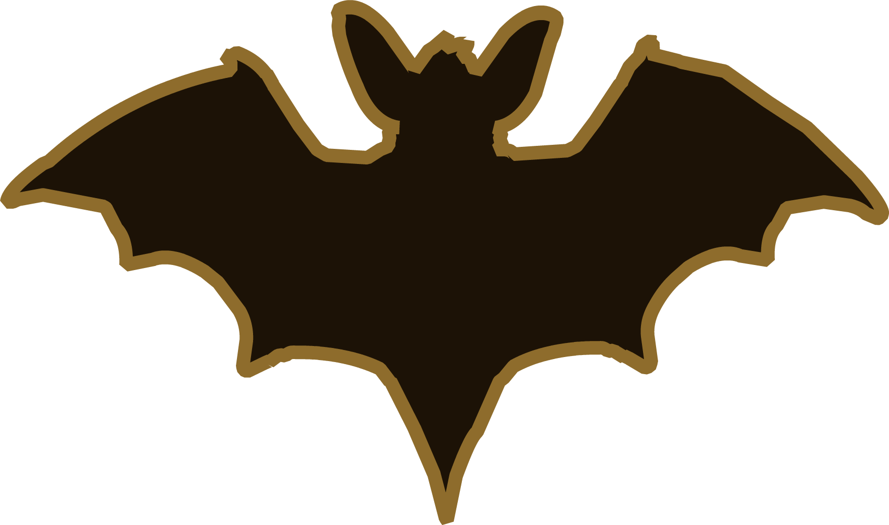 Image Halloween 2013 Emoticons Bat Png Club Penguin