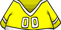 Yellow Hockey Jersey