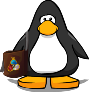 Card-Jitsu Carryall on a Player Card