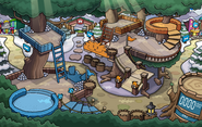 Puffle Party 2015 Snow Forts