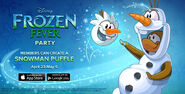 Frozen Fever Party homepage 2
