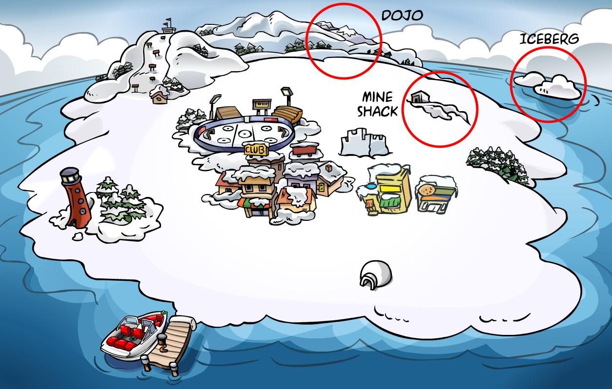 Club Penguin Server Room