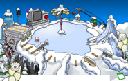 Puffle Party 2012 Ski Hill
