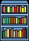 Blue Bookshelf sprite 003