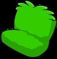 Fuzzy Green Couch sprite 012