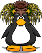 Pineapple Headdress from a Player Card