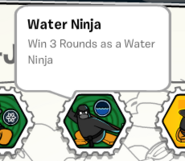 Water ninja CJS stamp book