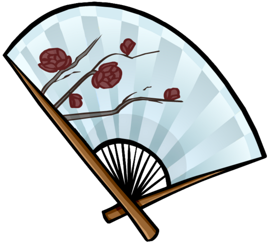 File:Snow Rose Fan clothing icon ID 5251.png