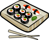 Sushi Combo clothing icon ID 5250