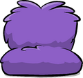 Fuzzy Purple Couch sprite 001