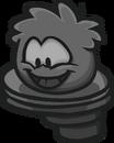 Perched Puffle Statue sprite 012
