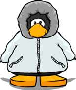 White Parka Playercard 14035