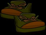 GreenHikingBoots