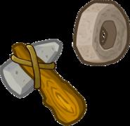 Prehistoric 2014 Emoticons Hammer