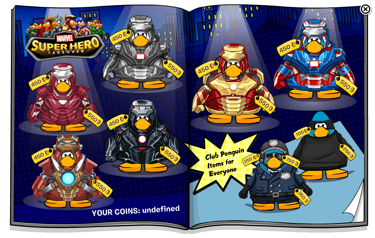 Marvel Catalog Club Penguin Wiki Fandom Powered By Wikia