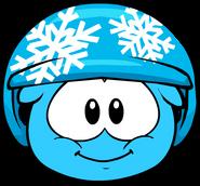 Snowflake Helmet in Puffle Interface