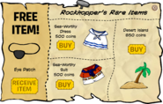 Rockhopper's Rare Items October 2008