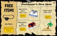 Rockhopper's Rare Items October 2008