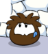 Brown Puffle card image