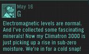 Climatron3000message