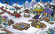 Puffle Party 2013 Ski Village