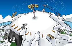New Year's 2009 Ski Hill