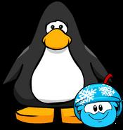 Puffle Hats snowflakehelmet player card