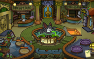 Halloween Party 2014 Puffle Hotel Lobby