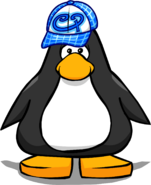Blue Skater Hat from a Player Card