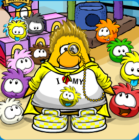 File:Yellow Puffle Mariocart25.png