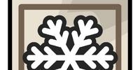 Snowflake Tile Pin