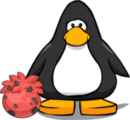 Red Triceratops Puffle Egg PC