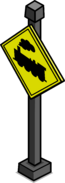 Train Crossing Sign sprite 001