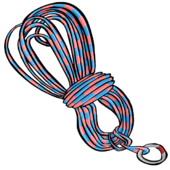 Blue Climbing Rope clothing icon ID 3052