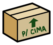 Cardboard Box pin icon pt