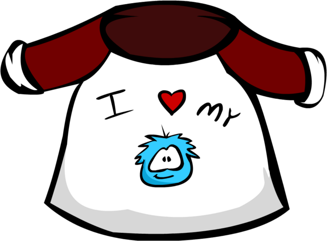 File:Old I Love My Puffle T-Shirt.png