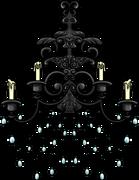 Iron Chandelier furniture icon ID 653