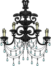 Iron Chandelier furniture icon ID 653.png