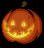 Spooky Jack-O-Lantern sprite 005