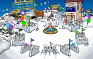 10th Anniversary Party Snow Forts 2
